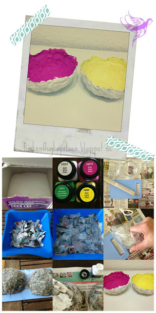 colours - arbeiten mit Pappmaché