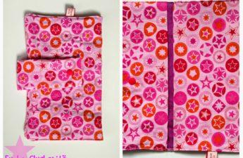 Wickeltasche in rosa