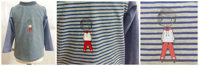 Shirt langarm Skater Plot