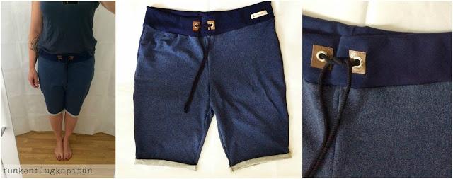 meine neuen super bequemen Shorts aus Sommersweat
