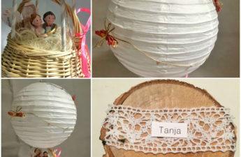 Heißluftballon Geldgeschenk zur Hochzeit