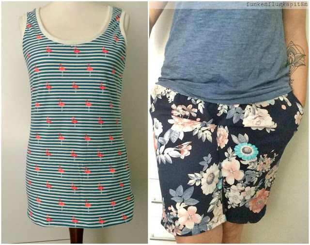 Sommer Shirts und Shorts