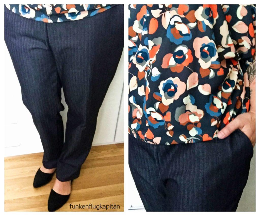 Noch mehr neue Hosen und passende Blusen