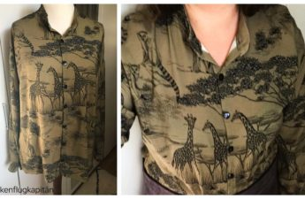Bluse Melilot Deer and Doe Safari khaki Viskose