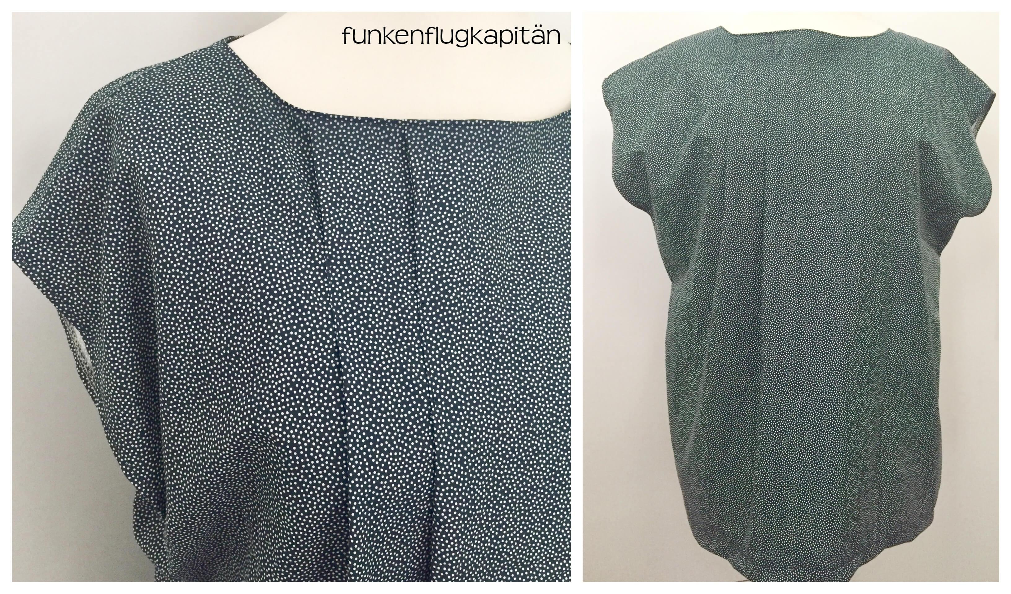 neues Blusen Schnittmuster von Schnittquelle ausprobiert