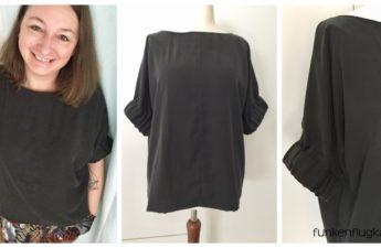 Bluse und Tshirt schwarz