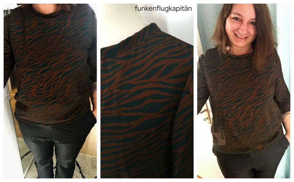 Holly Studio Schnittreif Zebra kaki