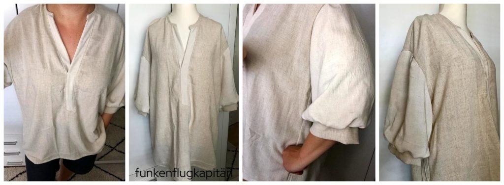 Kent Woven Tunic Style Arc Leinen beige