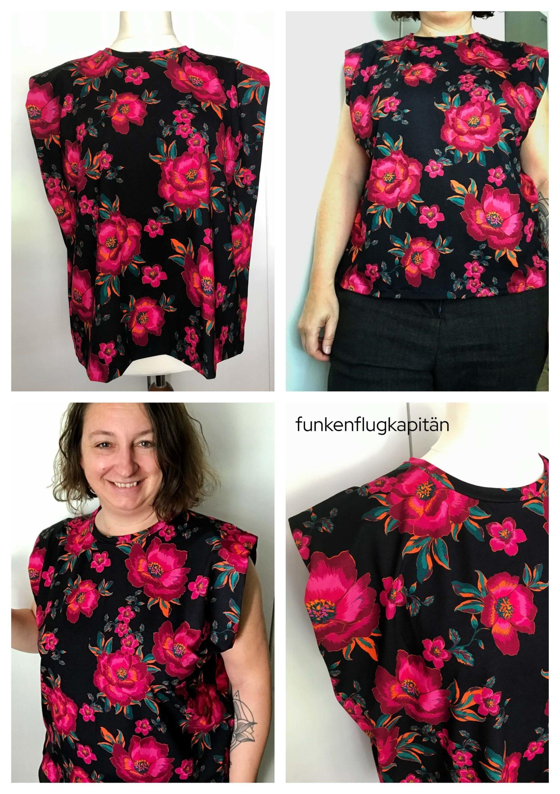 Kirby Dress Style Arc Jersey pink schwarz