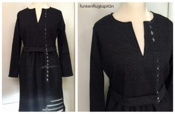 Kleid Elisabeth Konfetti Patterns Jacquard