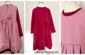 Lotte und Ludwig Sandkastenliebe Jeans Jersey pink Streifen
