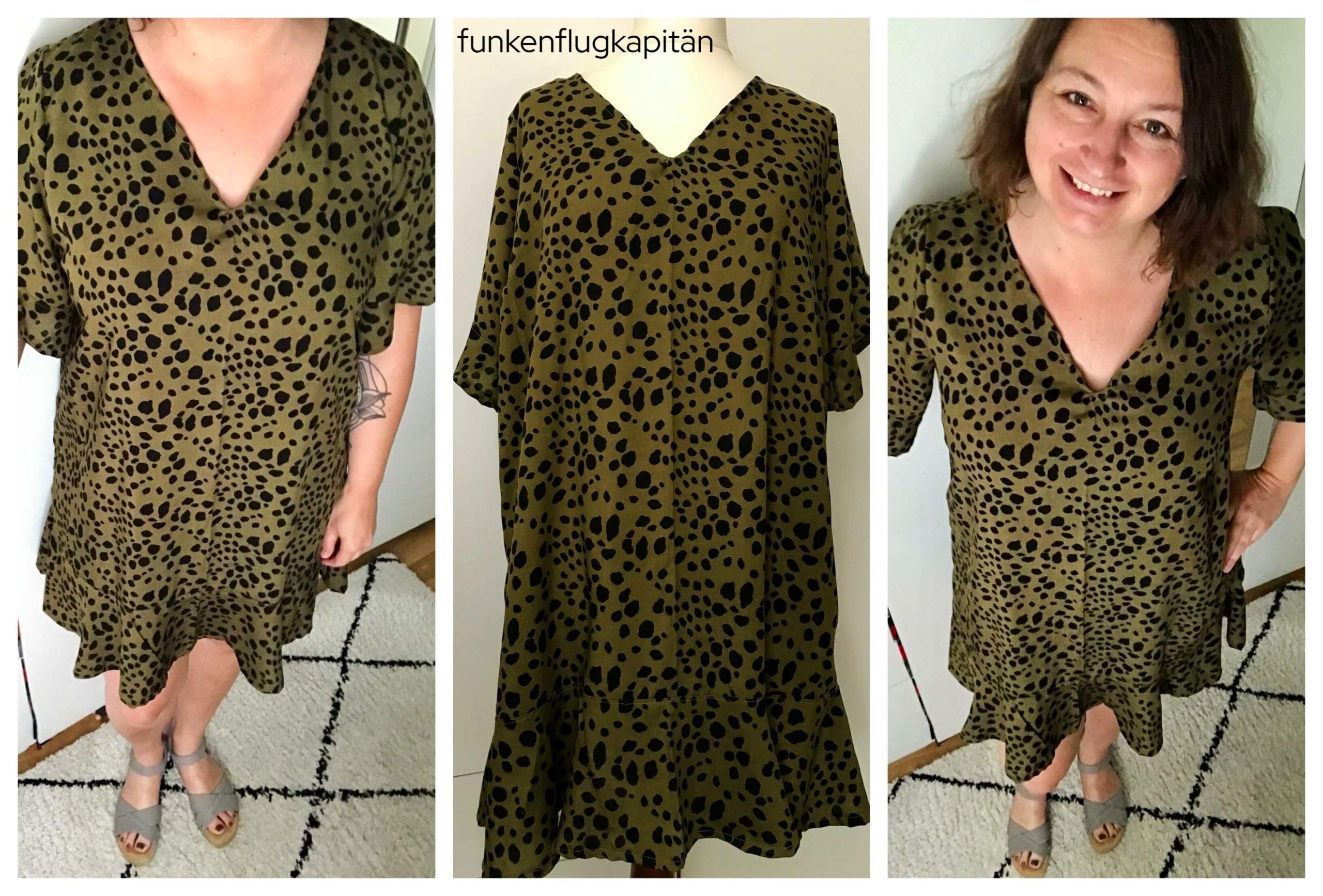 Pixie Woven Dress Style Arc viskose grün
