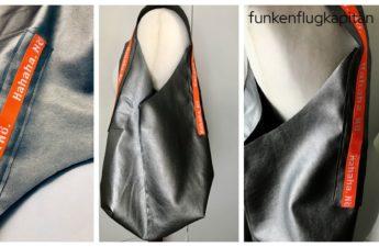 The Purely Bag by Gloria Kunstleder silber