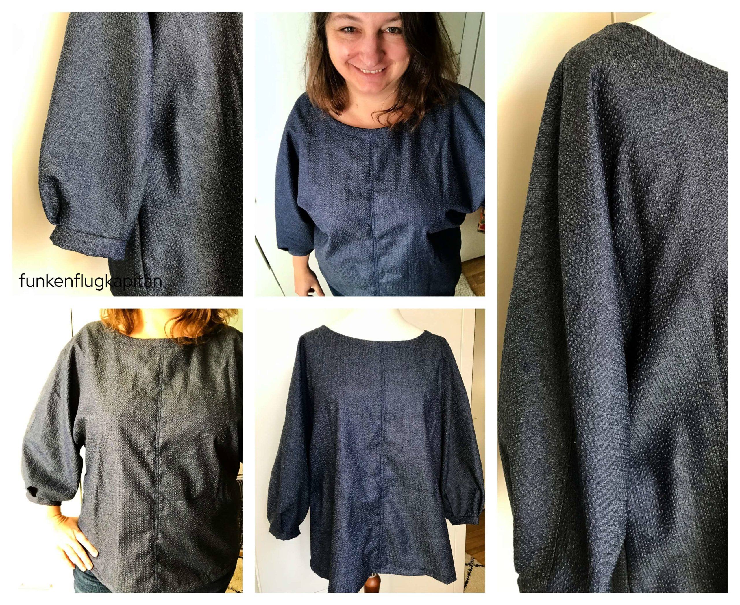 Wilma Woven Top StyleArc Jeanshemdstoff